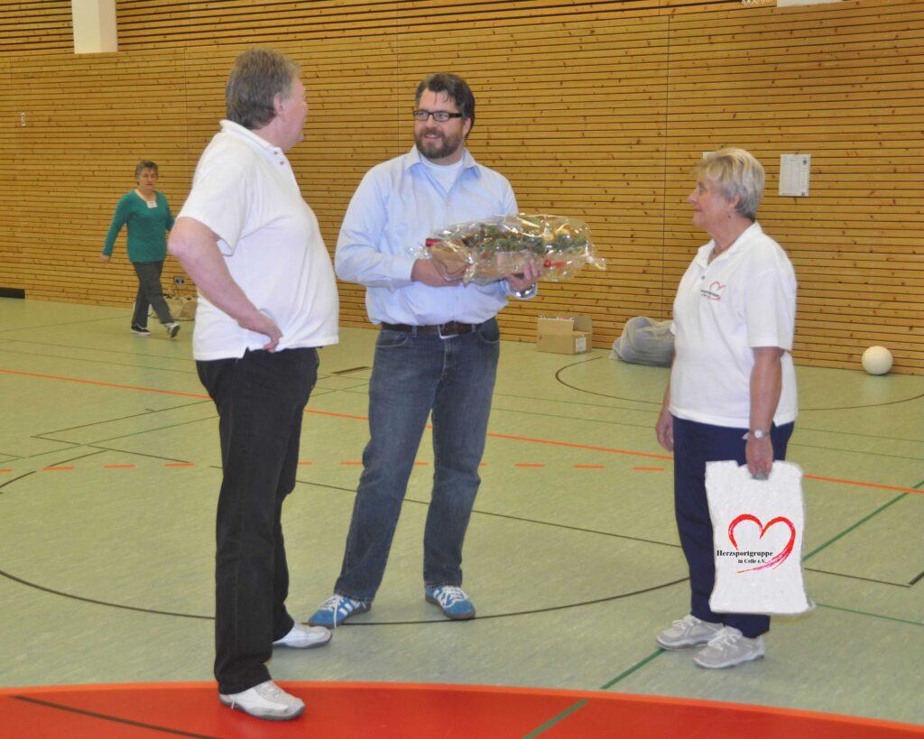 Jürgen Wesemann, Dr. Ipsen, Christa Meinecke