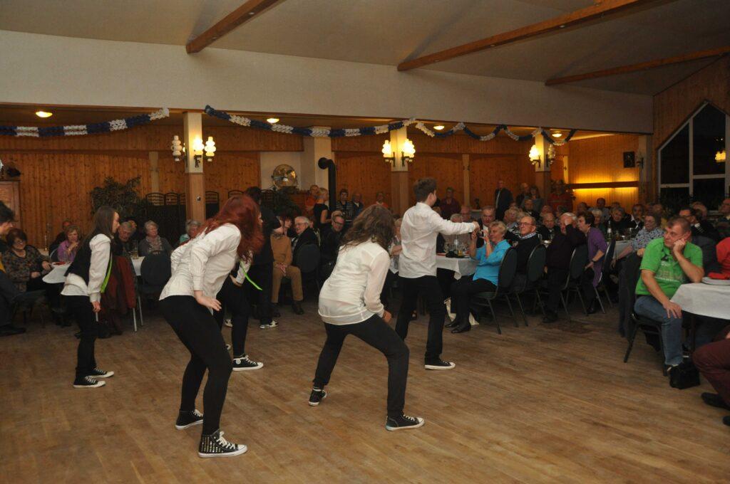 Streetdance nach dem Grünkohl