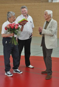 Abschied Erika Knobloch, J. Wesemann, K-H. Langhagel