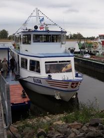 """Elbeschifffahrt mit MS """"Elise"""""""